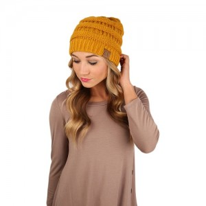 Pictures of Mustard Beanie