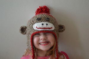 Pictures of Sock Monkey Beanie