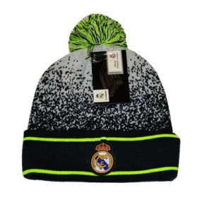 Real Madrid Beanie with Pom