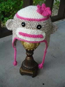 Sock Monkey Beanie Images
