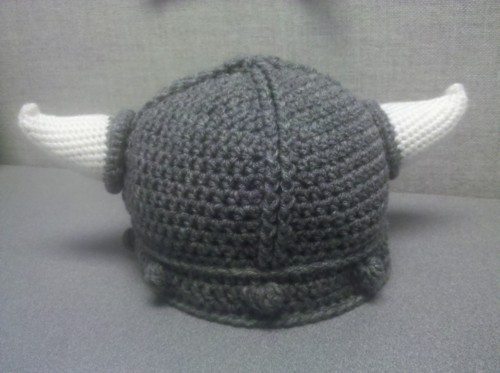 Free Crochet Patterns For Viking Hat : Viking Beanie Beanie Ville