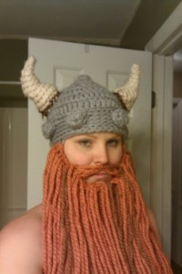 Viking Beanie with Beard