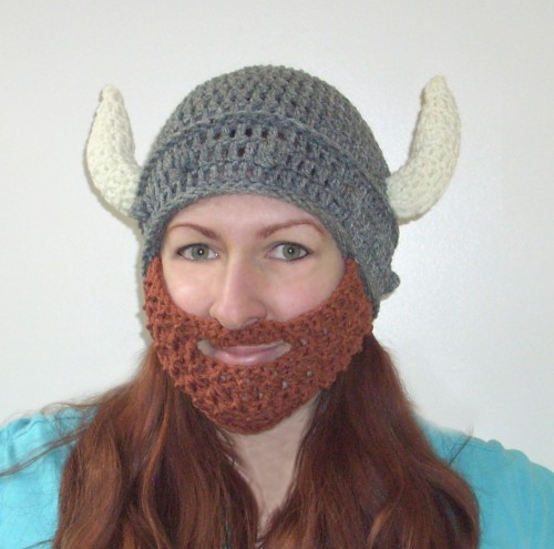 Magnificent Crochet Viking Beard Hat Pattern Pattern Easy Scarf