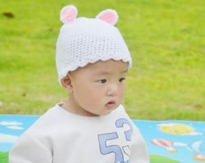 White Bunny Beanie Baby