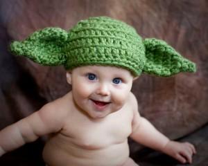 Yoda Beanie Baby