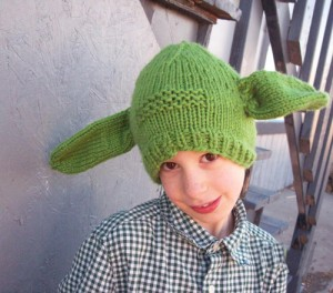 Yoda Beanie Knitting Pattern